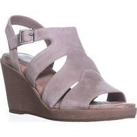 GB35 Wirla Wedge Gladiator Sandals - Mushroom - 11