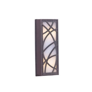 """Craftmade TB1060 4.13"""" x 1.44"""" Rectangle LED Crossed Arc Push Button"""