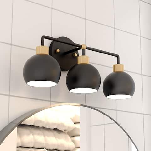 Glow's Avenue 3-Light Dimmable Bathroom Vanity Light - N/A