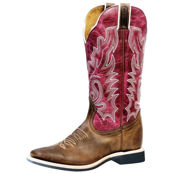 Boulet Western Boots Womens Extralight Stockman Hillbilly Golden