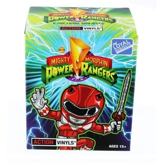 Mighty Morphin Power Rangers Wave 1 Blind Box Mini Figure - multi