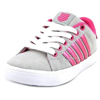 K-Swiss Belmont So SDE Youth Round Toe Suede Sneakers
