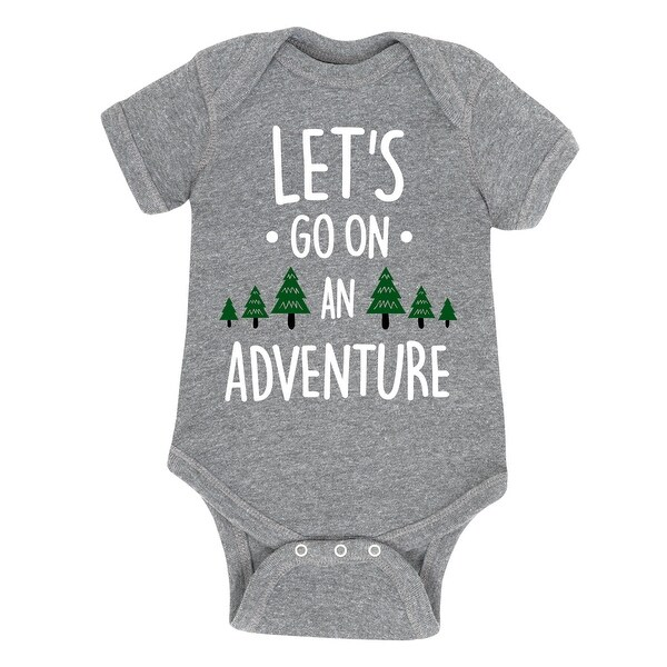 Lets Go On An Adventure - Infant One Piece