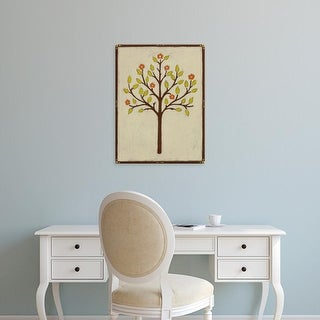 Easy Art Prints June Erica Vess's 'Orchard Vignette II' Premium Canvas Art