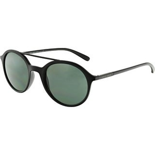 Giorgio Armani Gradient AR8077-504271-50 Black Oval Sunglasses