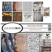 "Reminisce Collection Kit 12""X12""-Country Life"