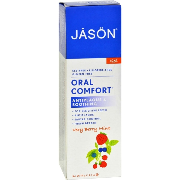 Jason Oral Comfort Gel Very Berry Mint - 4.2 oz x 3