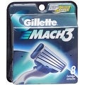 Gillette MACH3 Cartridges 8 Each - Thumbnail 0