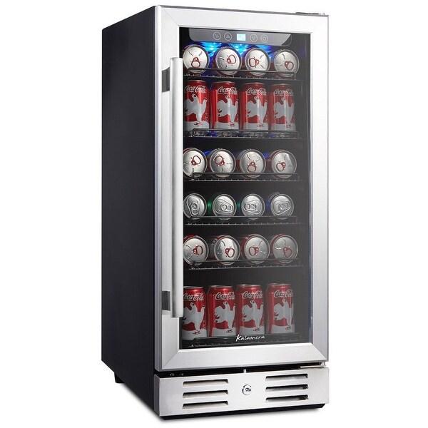 Shop Kalamera Krc 90bv 15 Quot Beverage Cooler Refrigerator 96