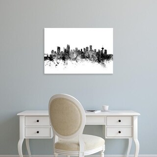 Easy Art Prints Michael Tompsett's 'Vancouver Canada Skyline' Premium Canvas Art