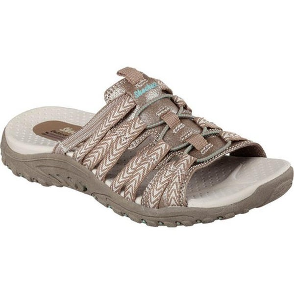 Skechers Women's Reggae Repetition Slide Taupe