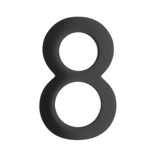 Architectural Mailboxes 3585-8 5 Inch Solid Cast Hand Finished Brass House Numbers - N/A