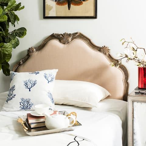 SAFAVIEH Bedding Harlow Queen size headboard - Beige