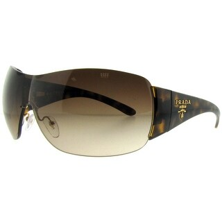 PRADA Shield SPR 22M Women's 2AU-6S1 Havana Brown Gradient Sunglasses - 35mm-0mm-120mm