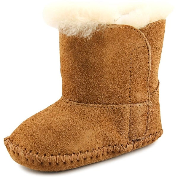 Ugg Australia Baby Caden Infant  Round Toe Suede Brown Snow Boot