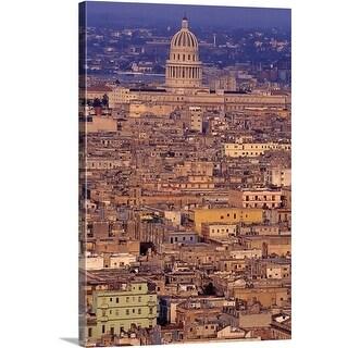 Premium Thick-Wrap Canvas entitled Havana, Cuba (4 options available)