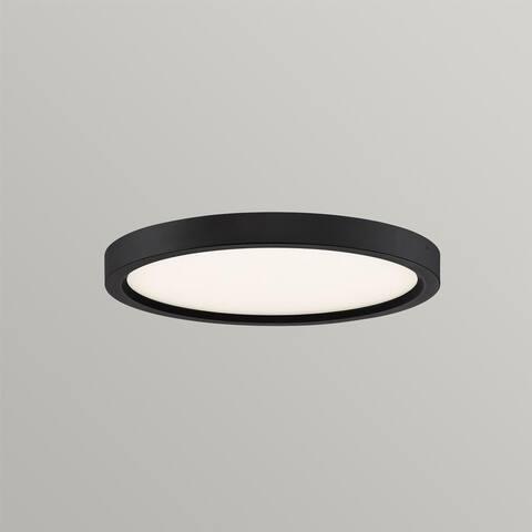 Ana Interiors LED Flush Mount Flush Mount Oil Rubbed Bronze - Exact Size