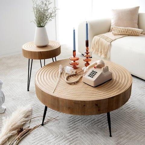 COZAYH 2-Piece Coffee Table Set