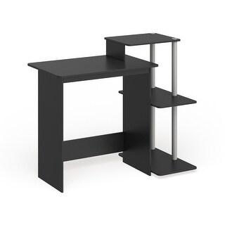 Link to Porch & Den Baruch Efficient 3-shelf Home Laptop Computer Desk Similar Items in Desks & Computer Tables