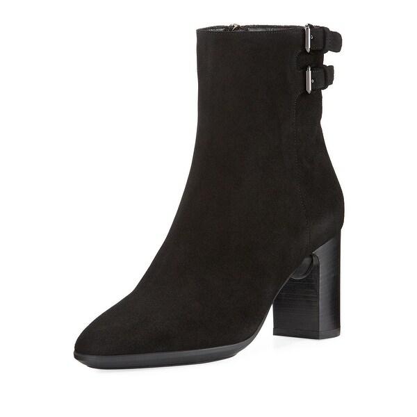 Aquatalia Womens DOTTIE Leather Almond Toe Ankle Fashion Boots - 10