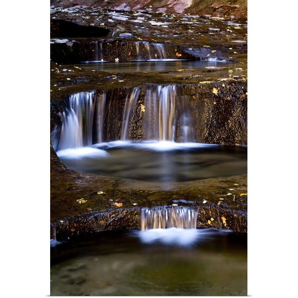 """""""The Subway in Zion National Park, Utah"""" Poster Print"""