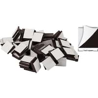 50Pk 1In Adehsive Magnetic Square