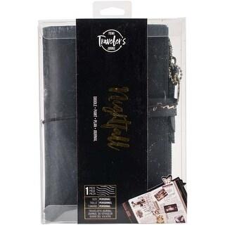 "Nightfall - Prima Traveler's Journal Leather Essential 5""X7.25"""