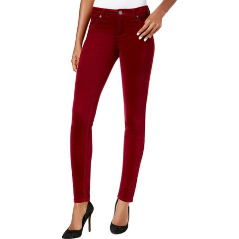 Kut From The Kloth Womens Donna Corduroy Pants Skinny Ankle