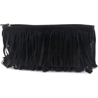 MR. Forest    Leather  Clutch - Black