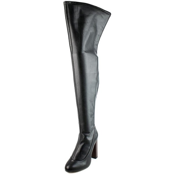 LFL Macalla Women Round Toe Synthetic Over the Knee Boot