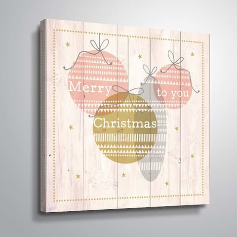 ArtWall Baubles II Gallery Wrapped Canvas