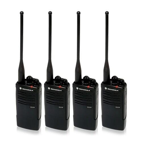 Motorola RDU4100 (4 Pack) RDX Business Series Two-Way UHF Radio