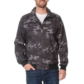Buffalo David Bitton Mens Camouflage Jacket