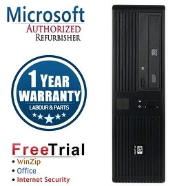 Refurbished HP RP5700 SFF Intel Core 2 Duo E6400 2.13G 4G DDR2 500G DVD WIN 10 Pro 1 Year Warranty