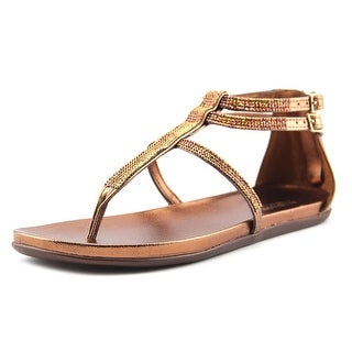 Kenneth Cole Reaction Slim It Open Toe Synthetic Thong Sandal