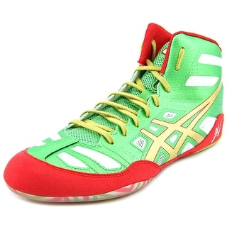 Asics JB Elite Men Round Toe Synthetic Green Sneakers