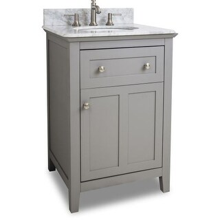 Jeffrey Alexander VAN102-24-T Chatham Shaker Collection 24 Inch Wide Bathroom Va