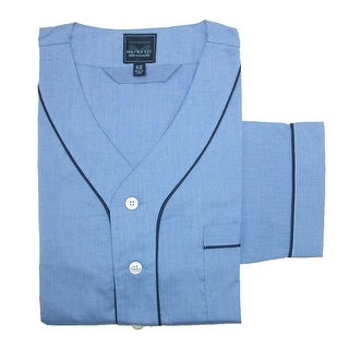 Majestic International Men's Basic Long Sleeve Nightshirt