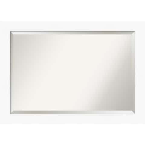 Cabinet White Bathroom Vanity Wall Mirror