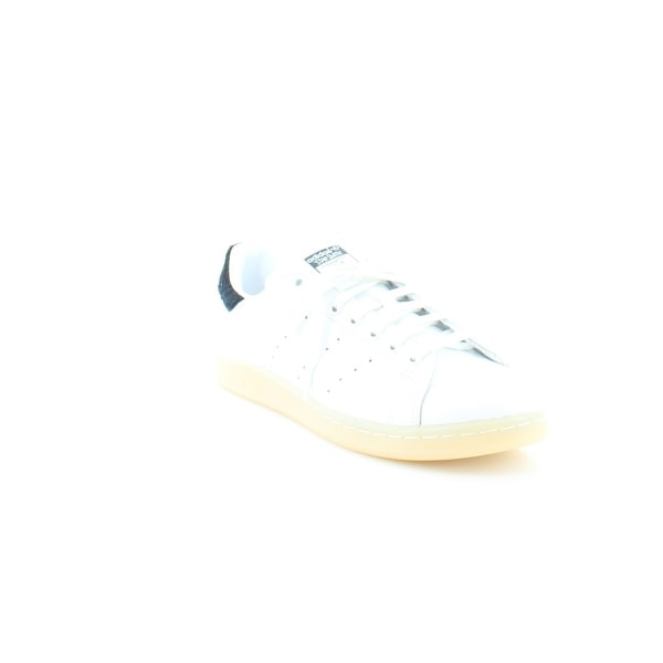 Adidas Stan Smith Women's Athletic FtWht/FtWht/CoNavy - 10