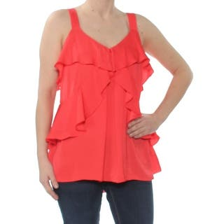 0ce70b80620fd Buy Red Michael Kors Sleeveless Shirts Online at Overstock