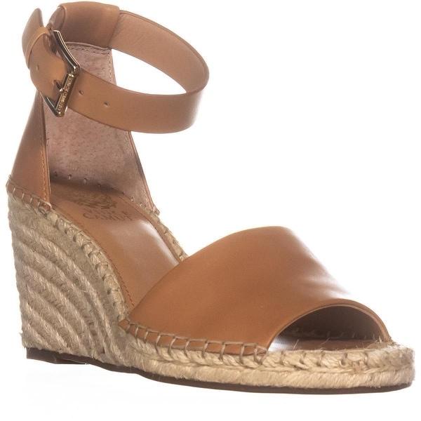 d5160dc6ece Shop Vince Camuto Leera Espadrille Wedge Sandals, Tan - Free ...