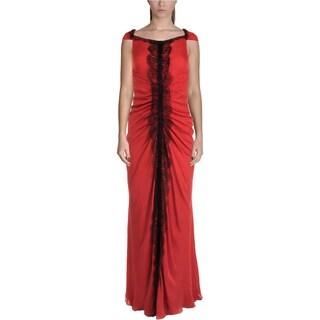 J. Mendel Womens Evening Dress Silk Prom - 0