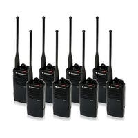 Motorola RDU4100 (8 Pack) RDX Business Series Two-Way UHF Radio