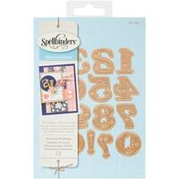 Spellbinders S4-540 Shapeabilities Victorian Numbers, Medium