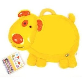 Crayola Desk Pet with Stickers and Erasable Crayons - Yellow