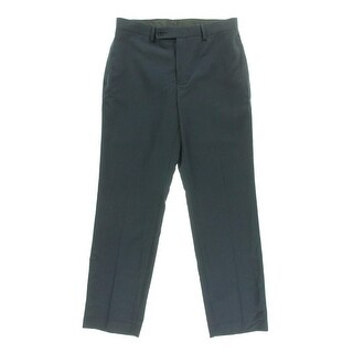 Calvin Klein Mens Slim Fit Flat Front Dress Pants - 34/34