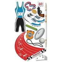 Track & Field - Jolee's Boutique Dimensional Stickers