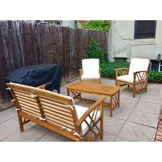 Safavieh Outdoor Living Fontana 4-Piece Patio Set