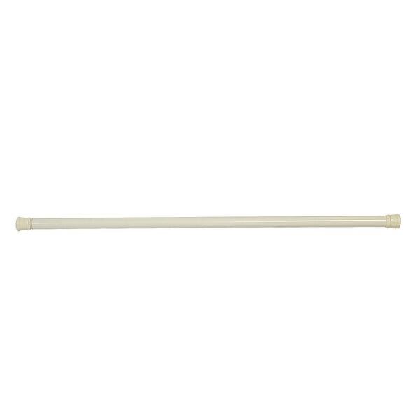 """Design House 564179 36"""" to 63"""" Adjustable Shower Rod - Bone"""